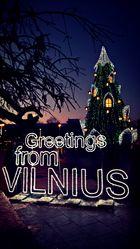 Greetings from Vilnius