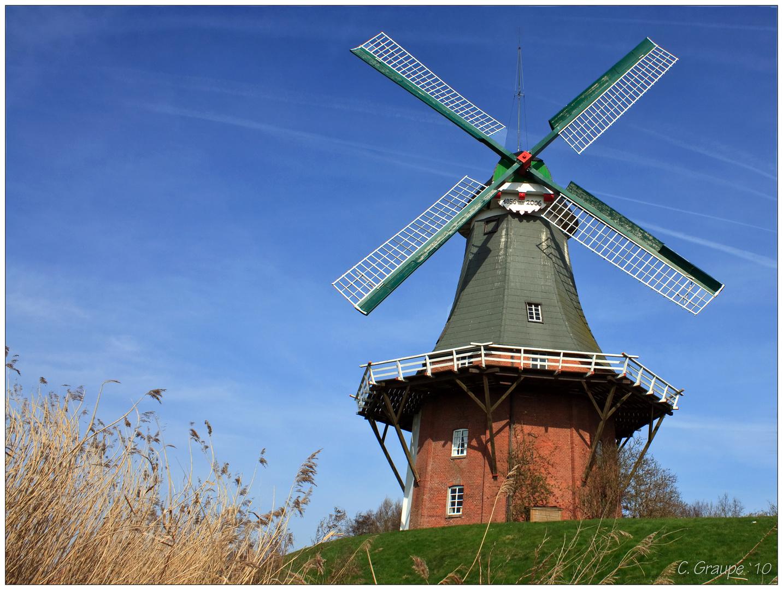 Greetsiel - Westliche Zwillingsmühle