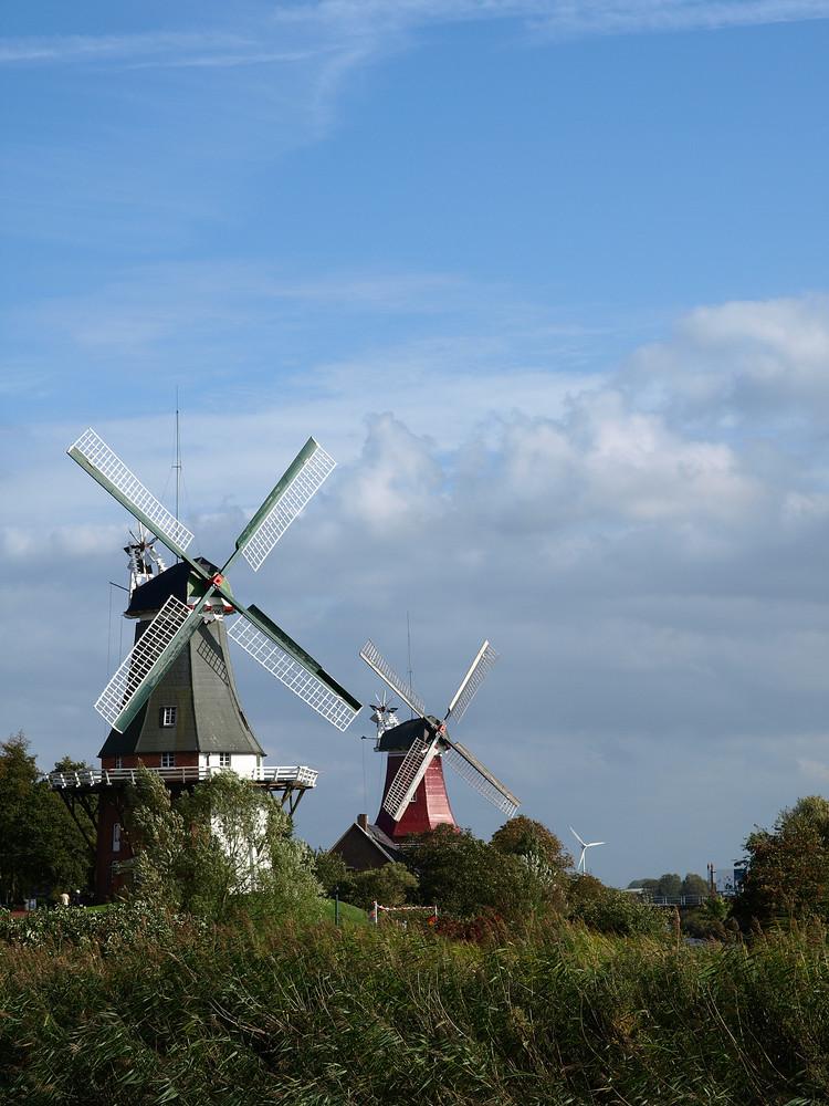 Greetsiel Zwillingsmühlen