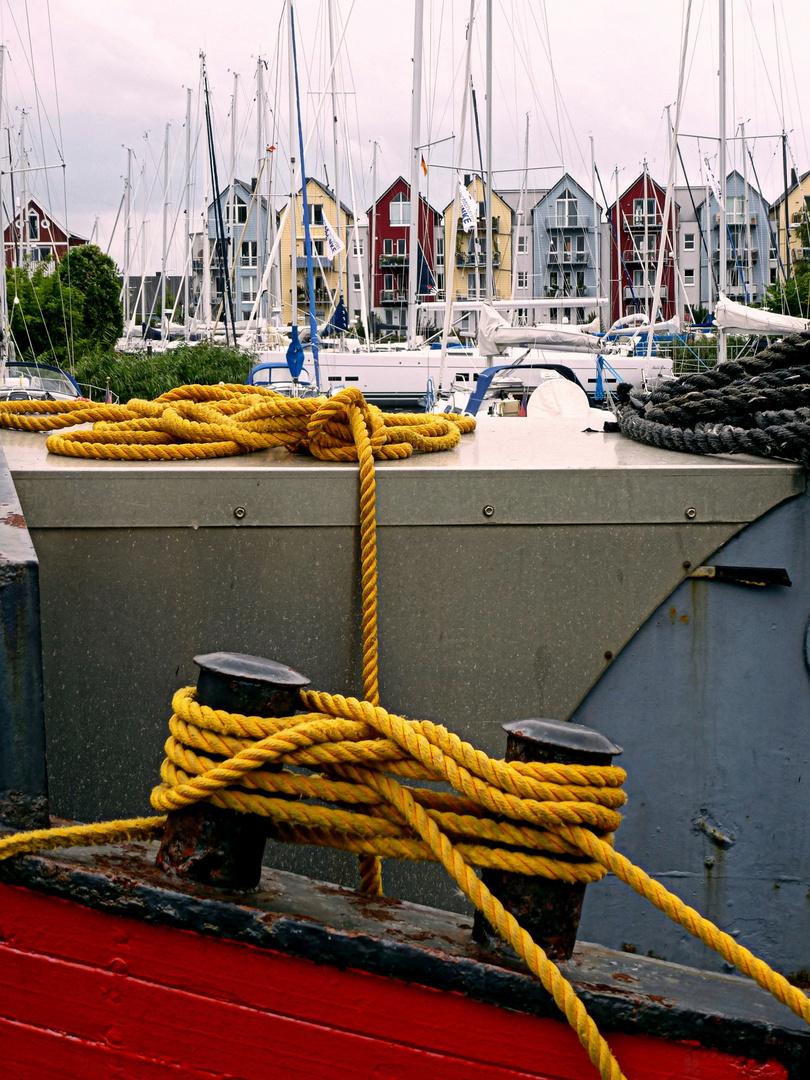 Greifswald - am Yachthafen