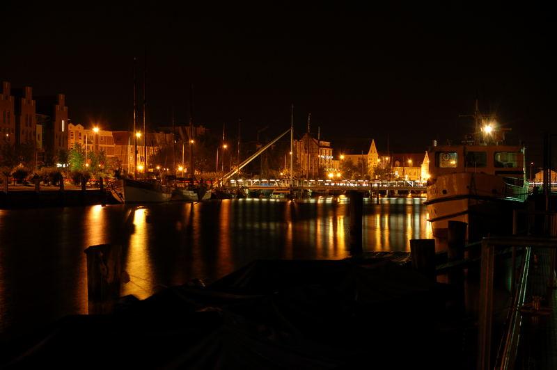 Greifswald bei Nacht