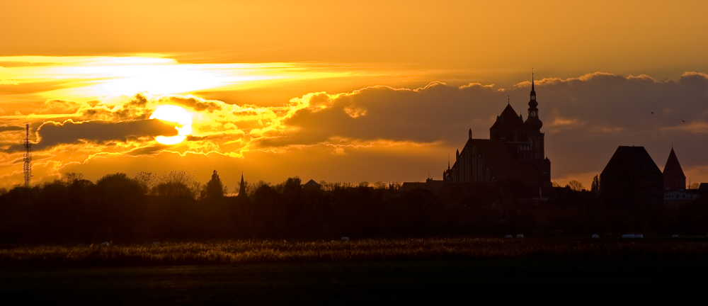 Greifswald - ein Herbstabend