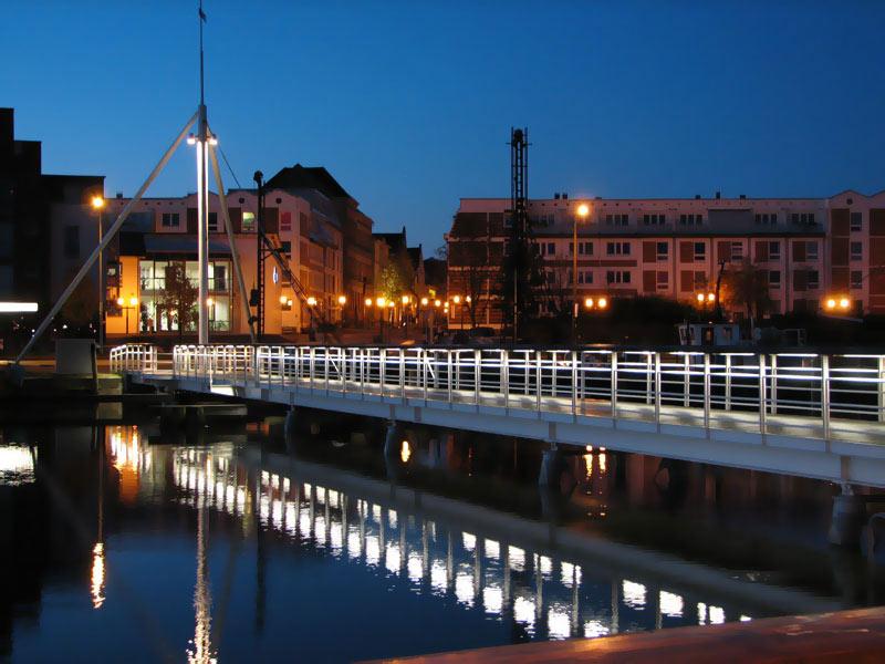Greifswald - Fußgängerbrücke