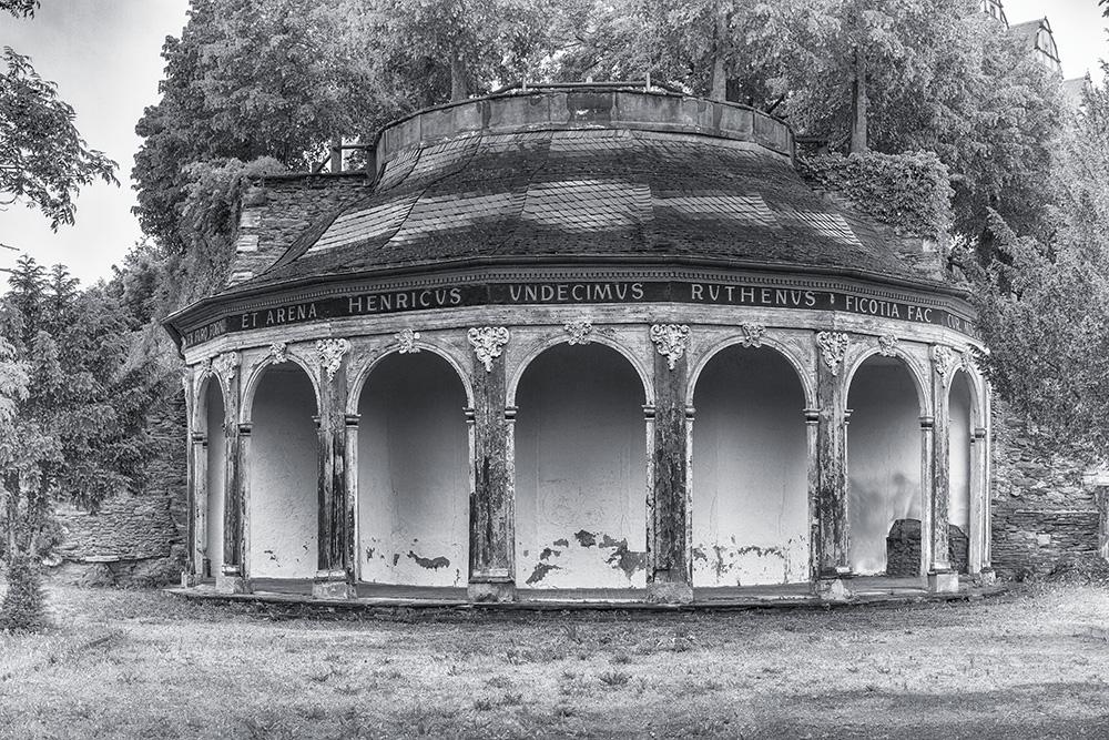 Greiz - Oberes Schloss - Lusthaus im Schanzengarten
