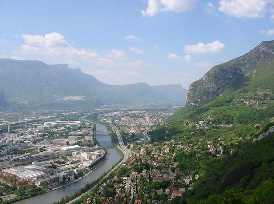 Grenoble von oben
