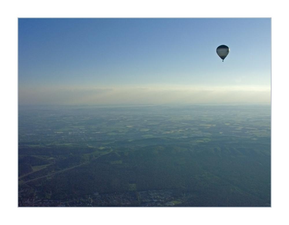 ...grenzenlose Freiheit... über den Wolken... (Reload) - (4. der Doku-Serie BALLONFAHRT)