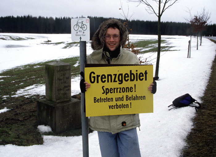 Grenzgebiet - Sperrzone!
