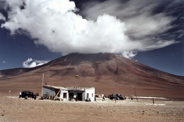 Grenzstation Chile - Bolivien