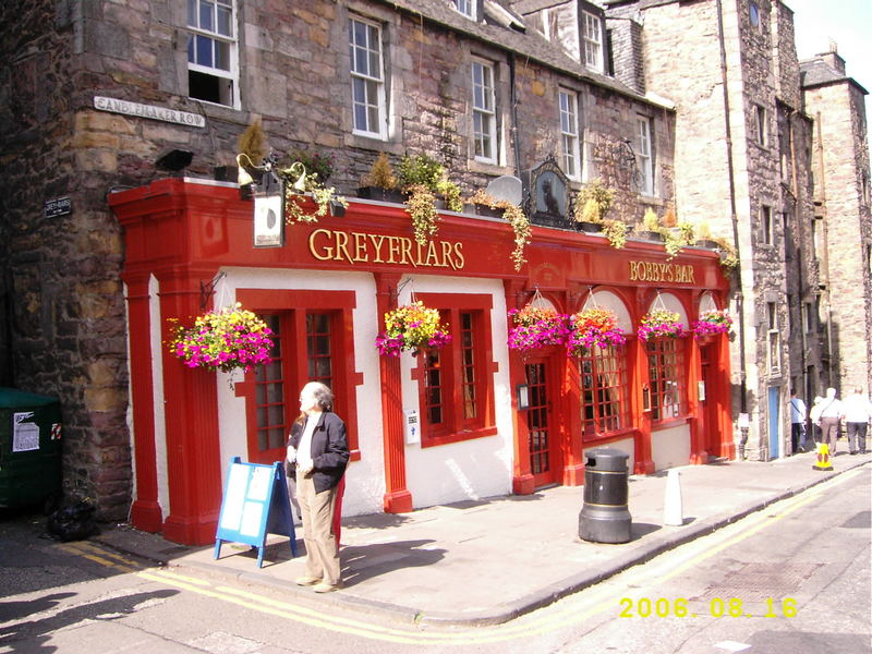 Greyfriars Bobby`s Bar
