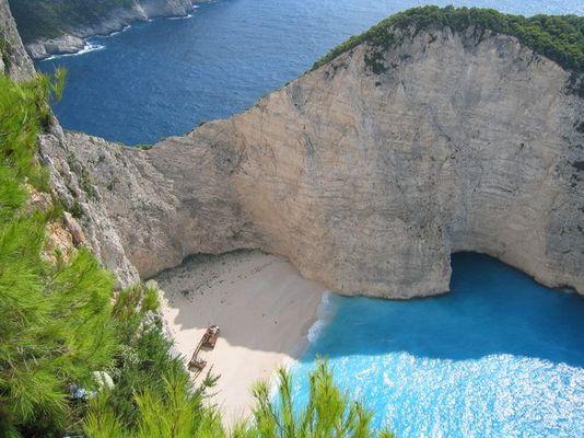Griechenland-Zakynthos: Ship Wreck