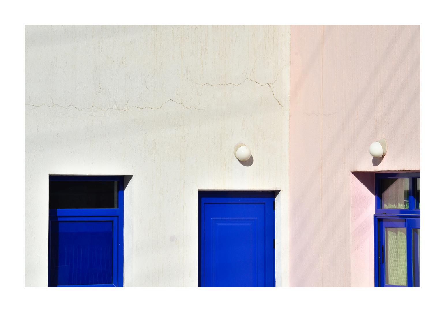 griechisch Blau und andere Farben ...
