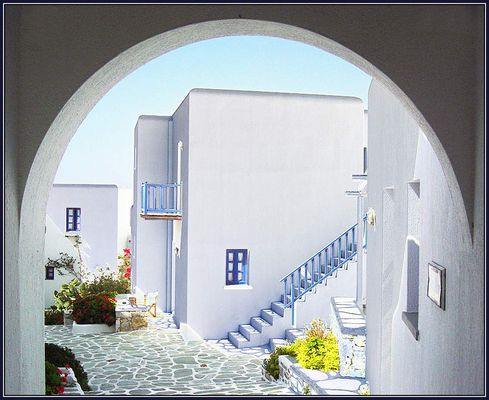 griechisch gezeichnet