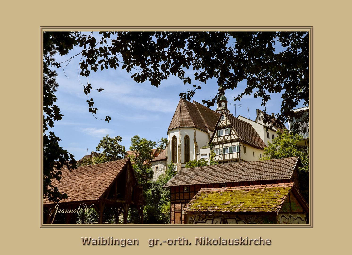 Griechisch Orthodoxische Kirche Waiblingen