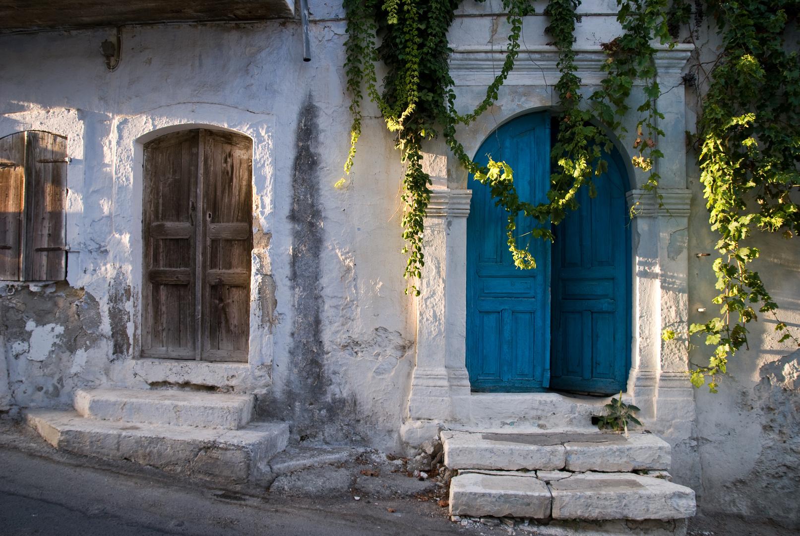 Griechische Fassade