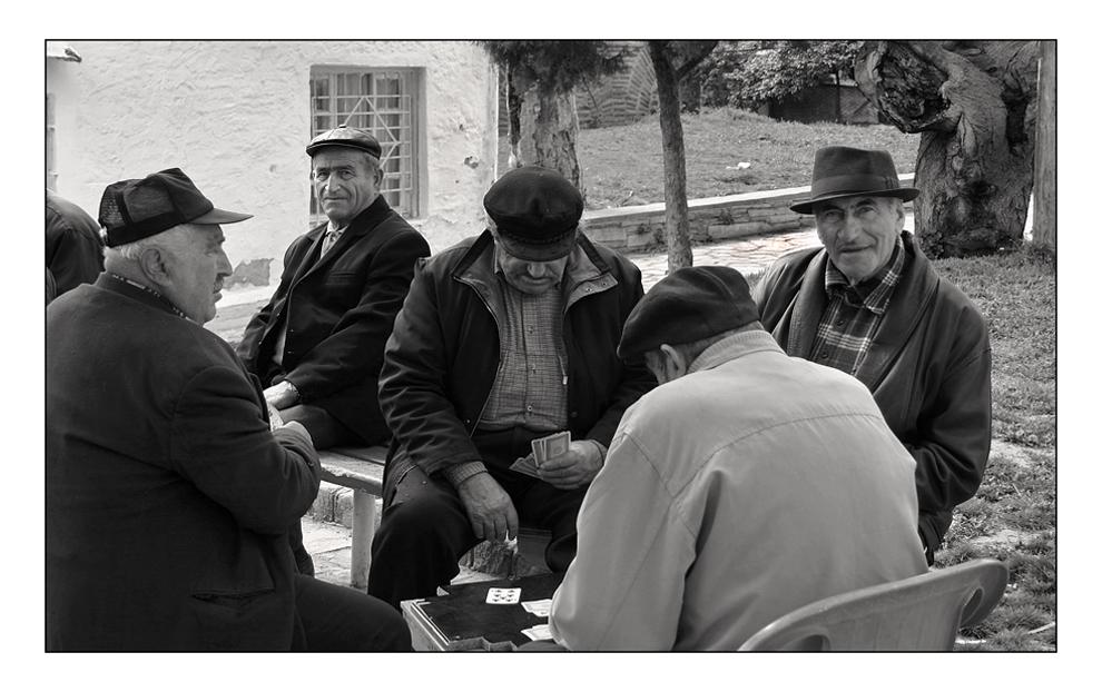 - Griechische Herrenrunde II -
