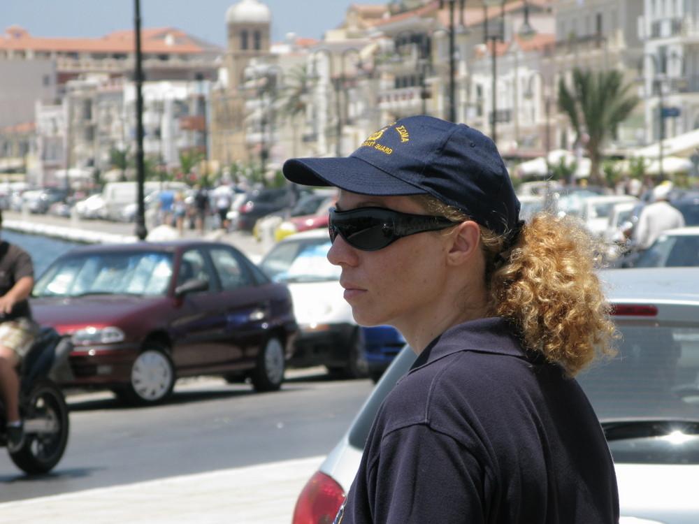 griechische Politesse