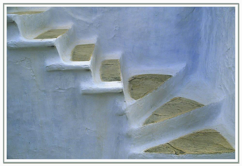 Griechische Treppenstufen