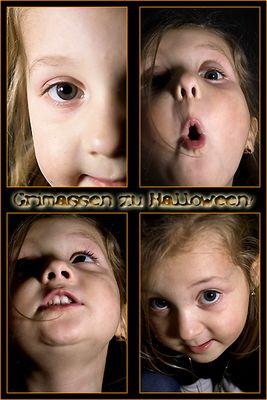 Grimassen zu Halloween!