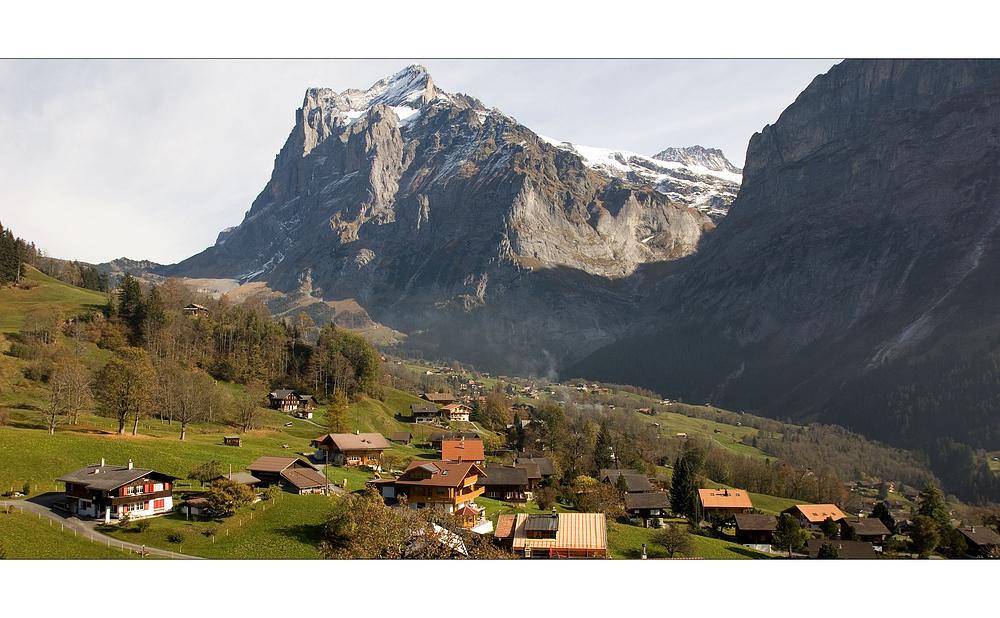 Grindelwald und das Wetterhorn