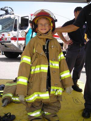Grisu der Firefighter