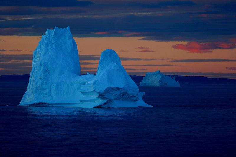 Grönland - Diskobucht - im August 2005.