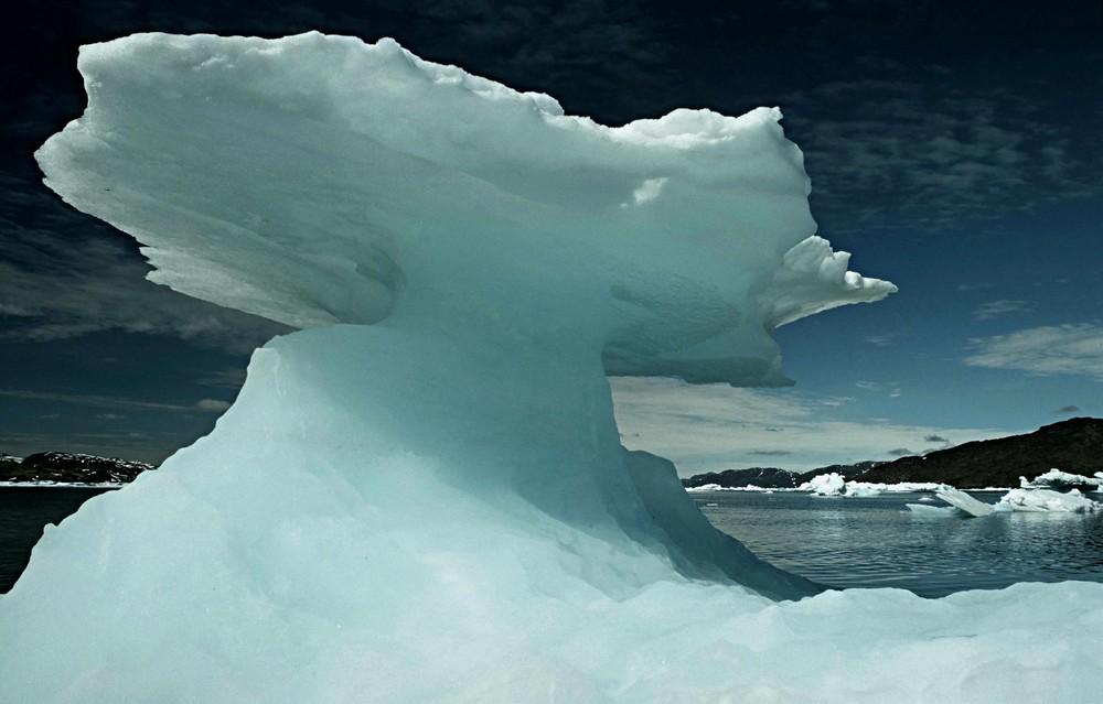 Grönland Eisskulptur