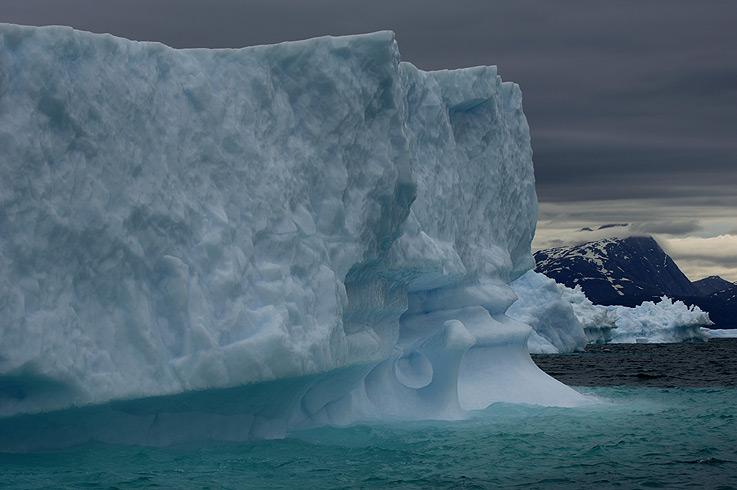 Grönland - mit Wolken