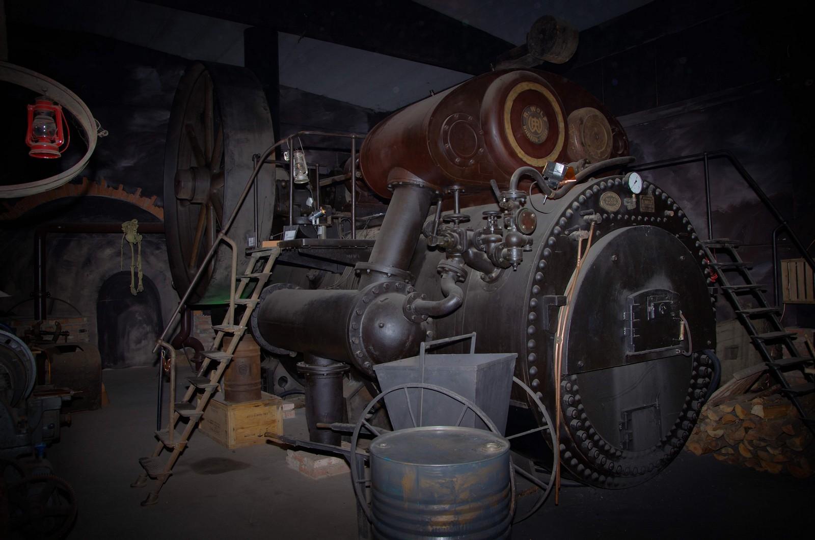 Größte Dampfmaschine Bayerns(Standort Furth im Wald)