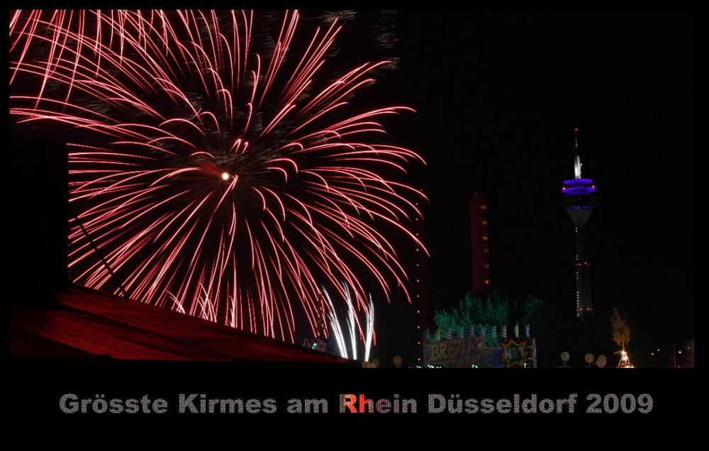 Grösste Kirmes am Rhein 2009