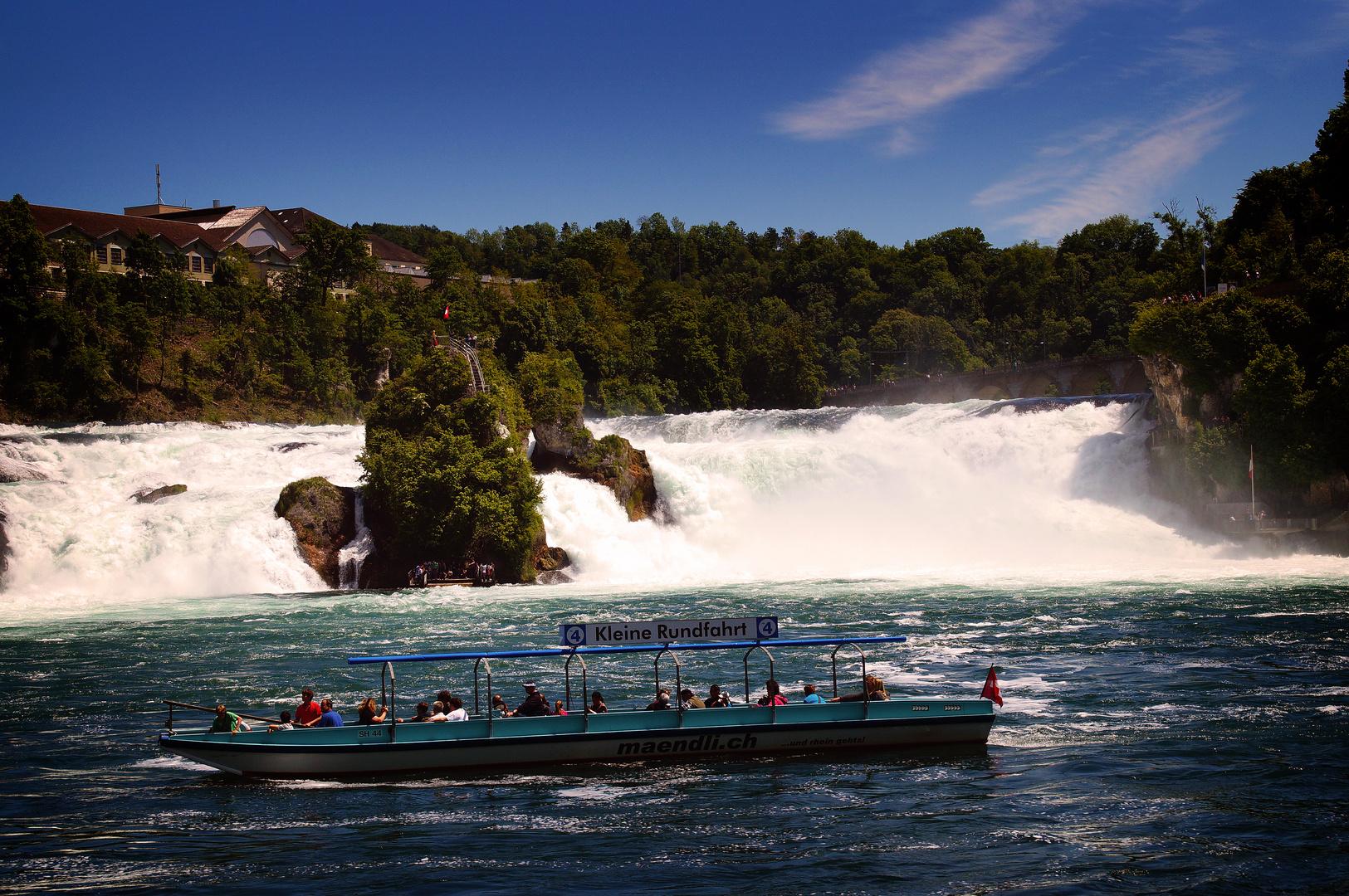Grösster Wasserfall Europas
