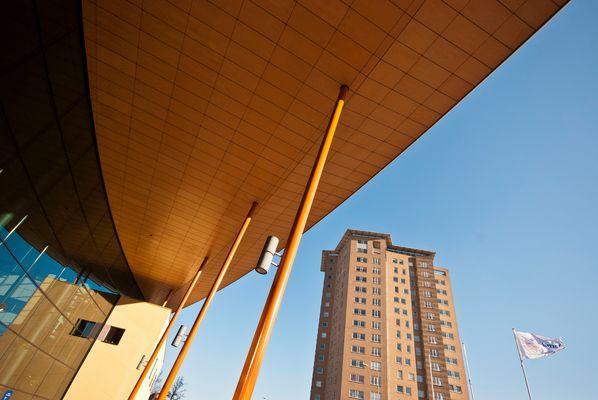 Groningen (city) - Hanzeplein - UMCG University Hospital 2