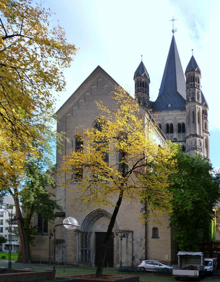 Groß St. Martin im Herbst