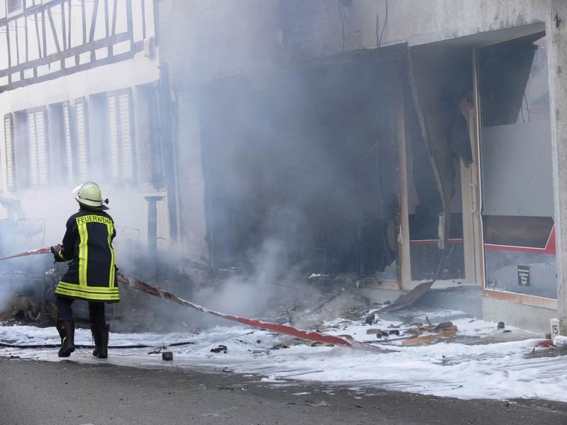 Großbrand 67112 Mutterstadt 6 Mai 2007 Bild 2