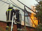 Großbrand äscherte sechs Gebäude ein