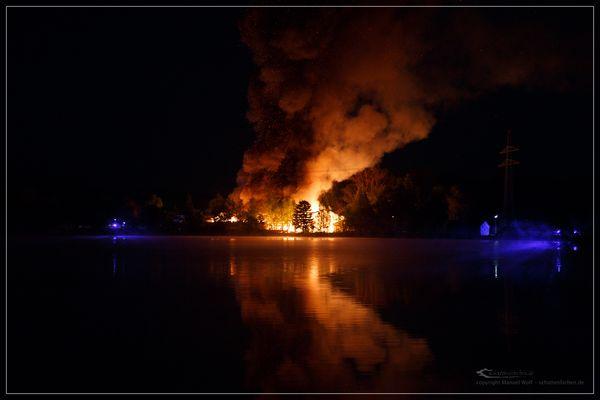 Großbrand in Haßfurt