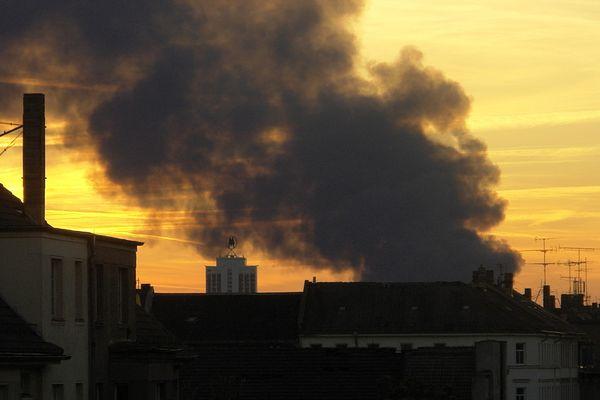 Großbrand in Leipzig II
