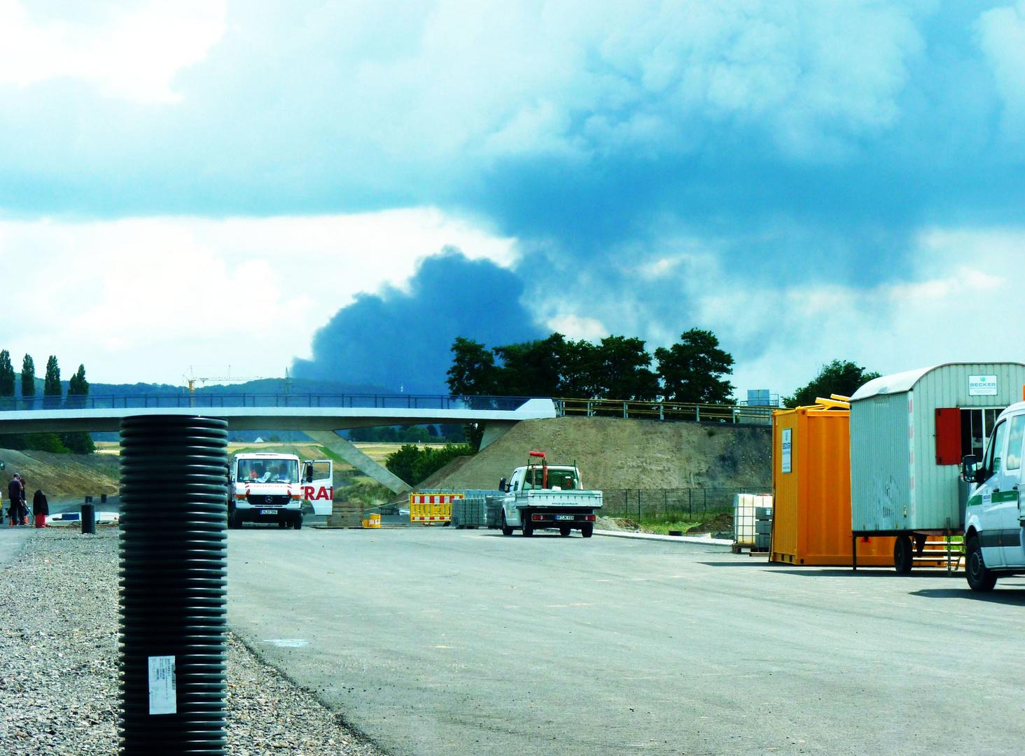 Großbrand in Porta Westfalica