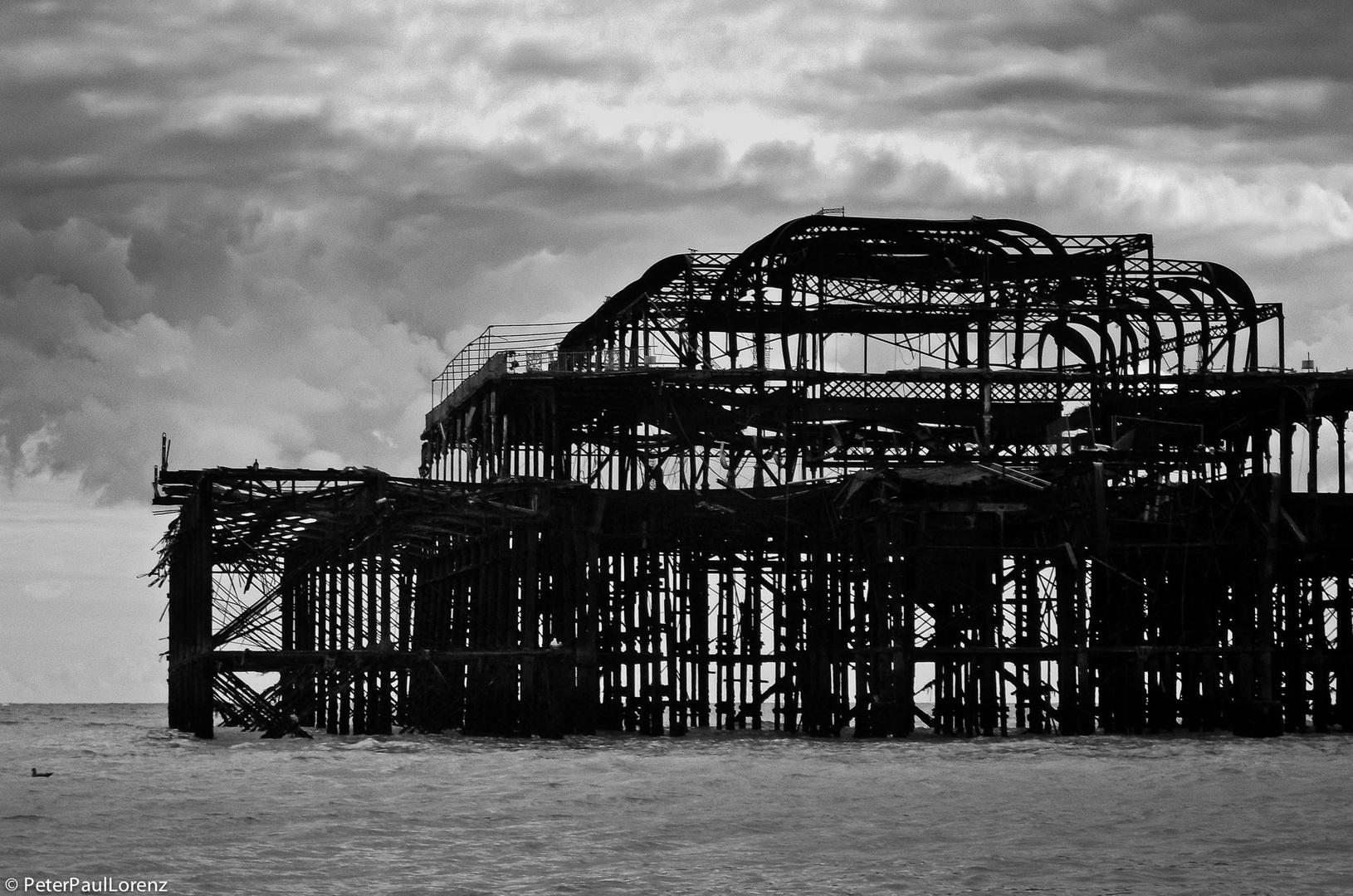 Großbritannien. Brighton. West Pier