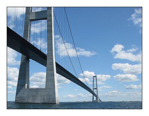 Große Belt Brücke / Storebælt-Brücke in Dänemark