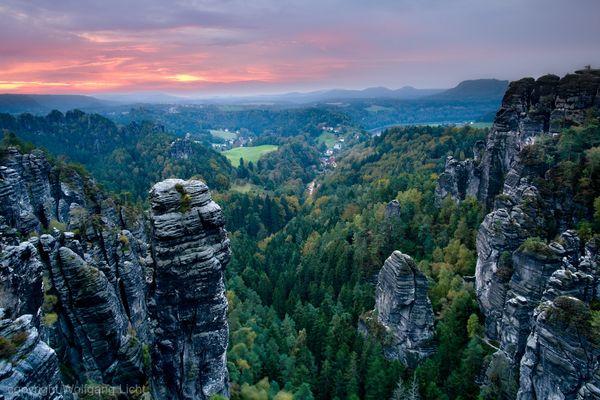 Große Gans Aussicht, Sächsische Schweiz