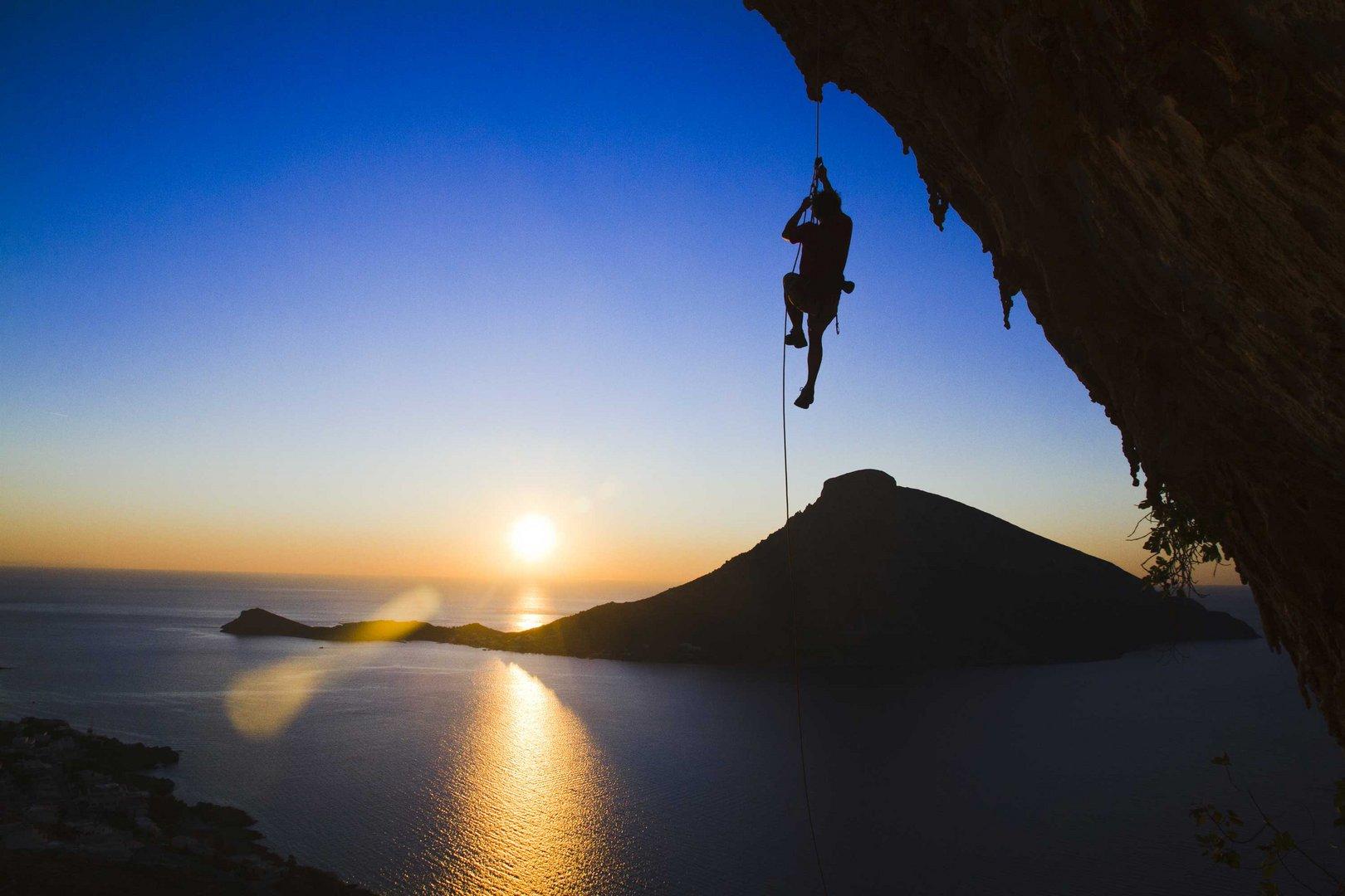Große Grotte auf Kalymnos