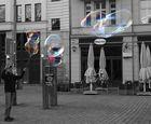große Jung´s machen auch große Seifenblasen