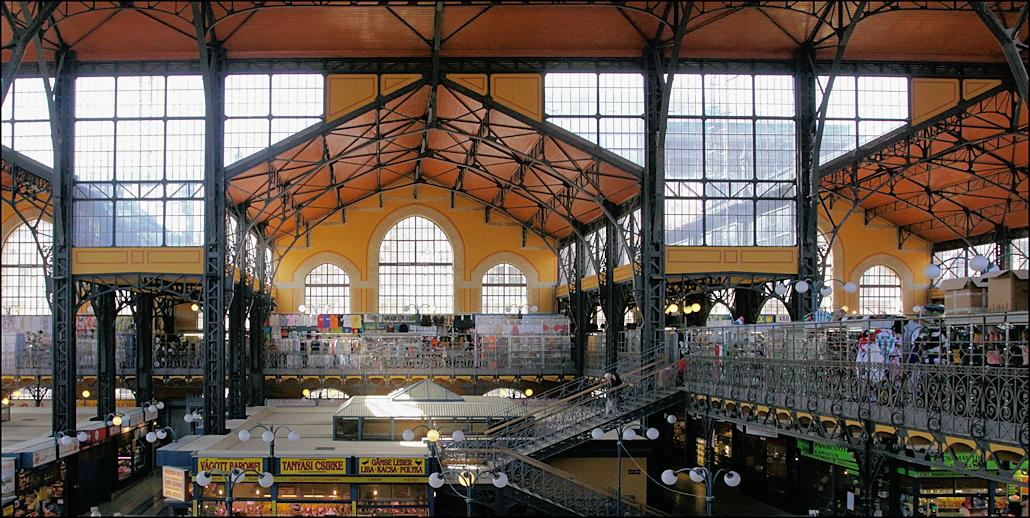 Große Markthalle - Nagy Vásárcsarnok