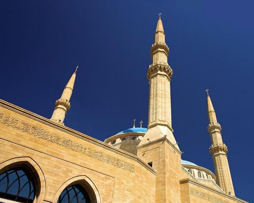 Grosse Moschee in Beirut.