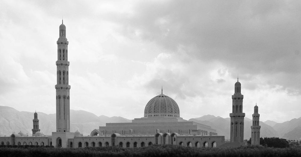 Große Moschee Sultan Qabus in Muscat