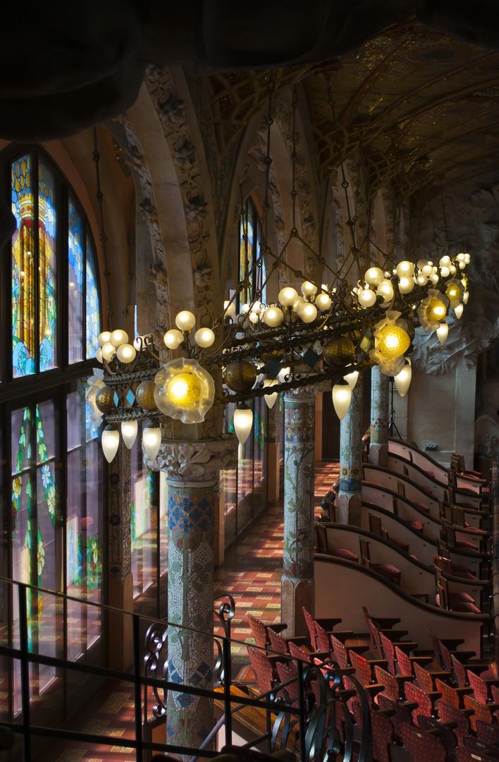 Große Oster Beleuchtung