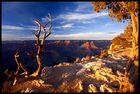 Große Schlucht bei Sonnenuntergang
