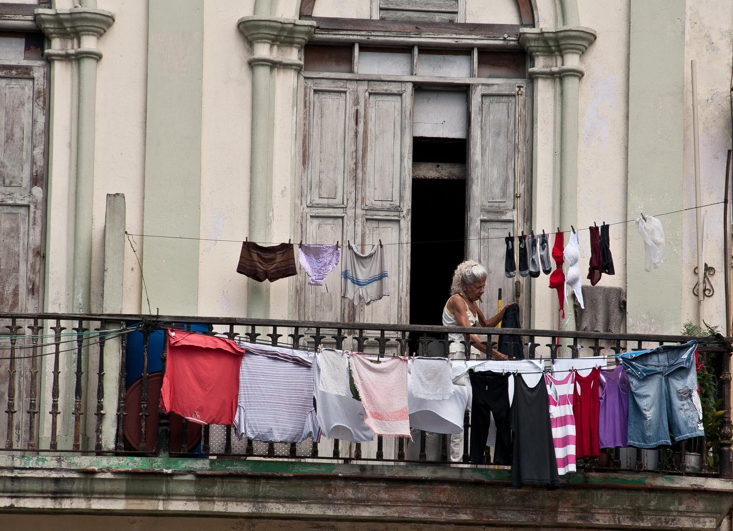 große Wäsche...