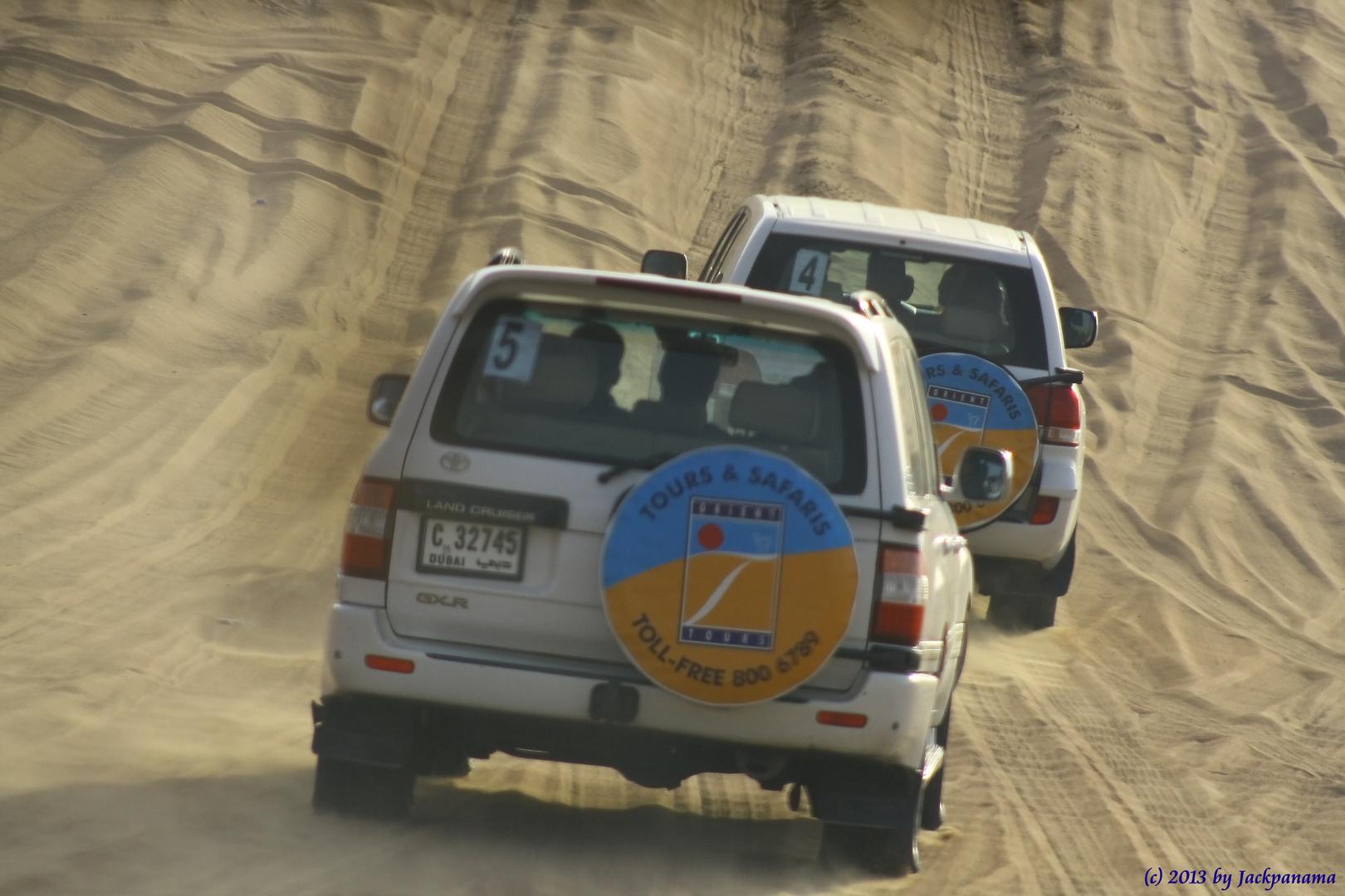 Große Wüstensafari durch die Wüste in Dubai