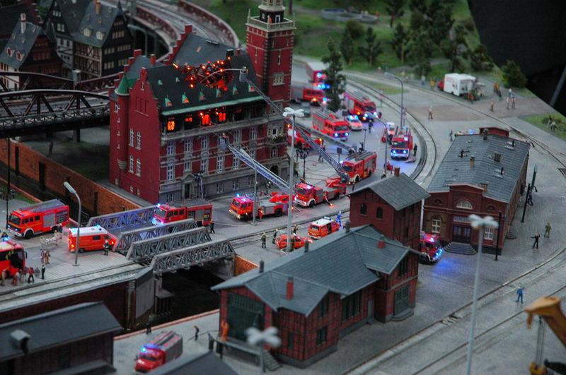 Grosseinsatz der Feuerwehr